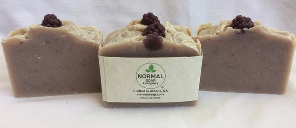 Georgia Blackberry Soap featuring Shea Butter and Organic Sunflower