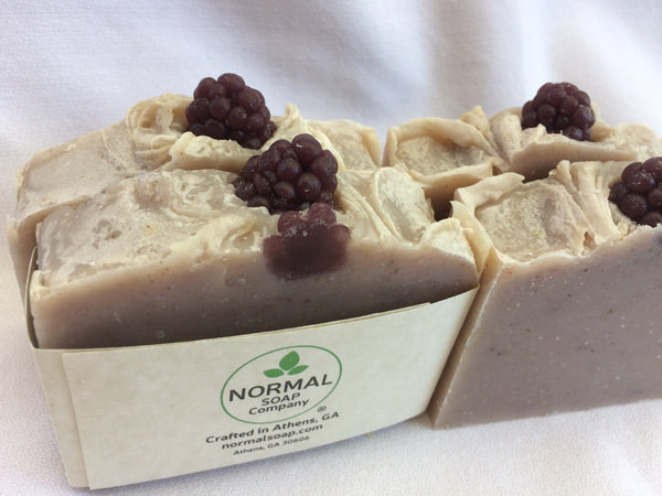 Georgia Blackberry Soap with Shea Butter and Organic Sunflower Oil