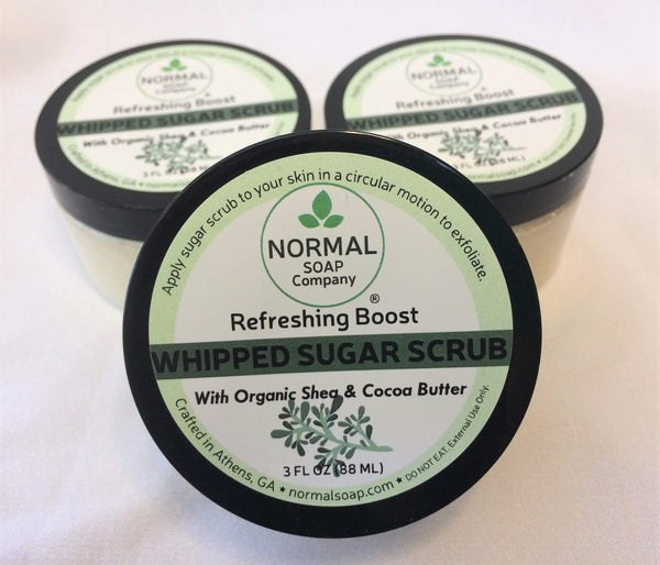 Whipped Sugar Scrub Refreshing Boost
