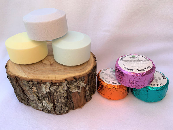 Shower Steamers with pure essential oils - Create an Herbal Steam Spa!