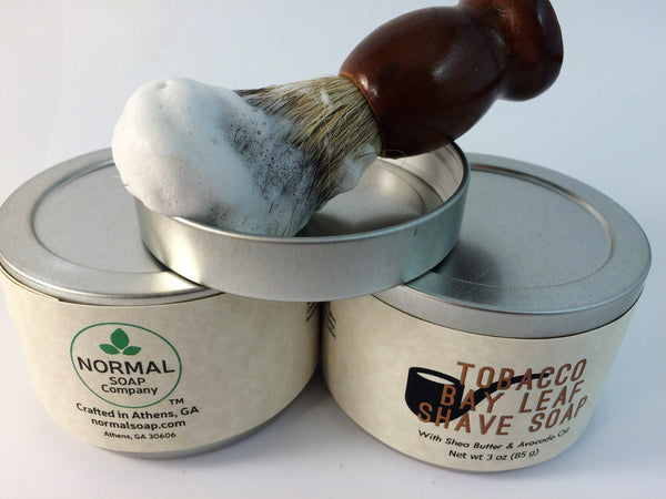 100% Badger Bristle Shave Brush for wet shaving