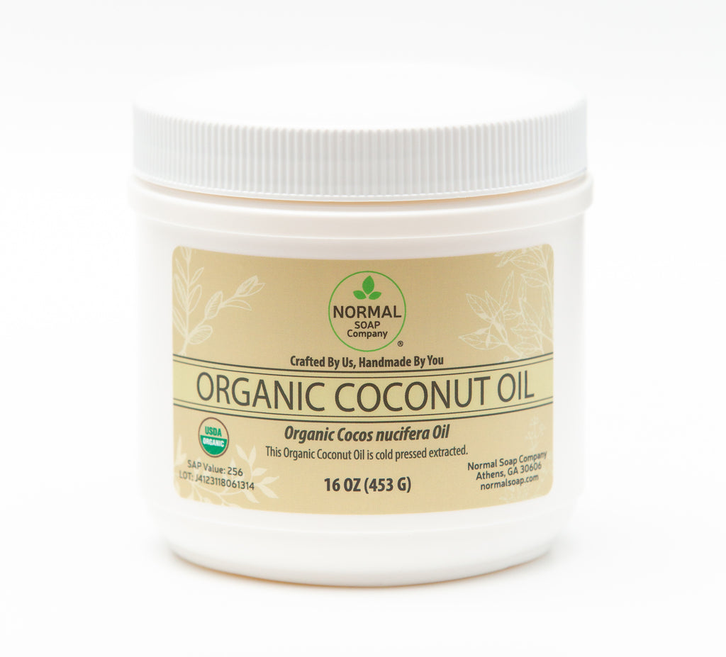 Organic Coconut Oil for Soap Making!