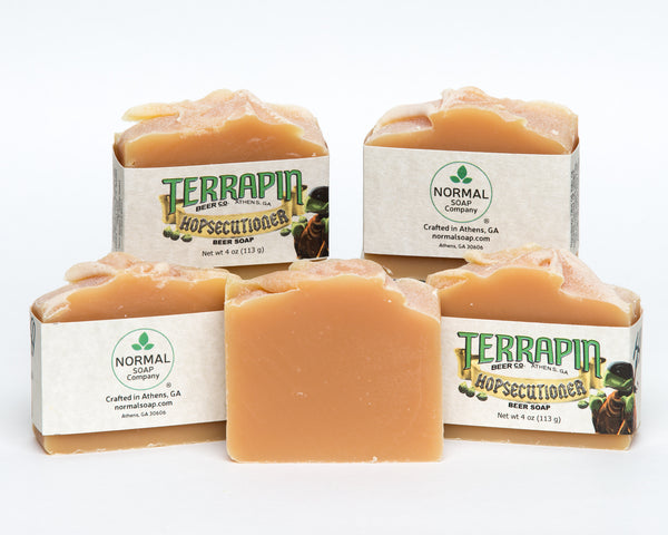 Terrapin Hopsecutioner Beer Soap made by Normal Soap Company