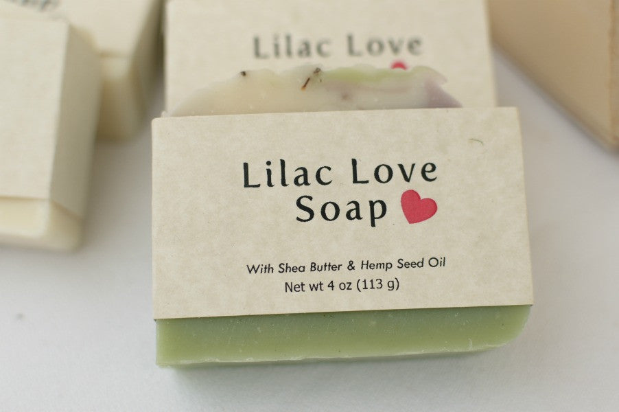 Lilac Love Handmade Soap