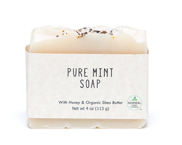 Pure Mint Soap featuring Shea Butter and Honey
