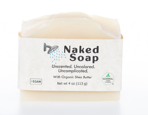 Naked Soap, Uncolored, Unscented, Uncomplicated