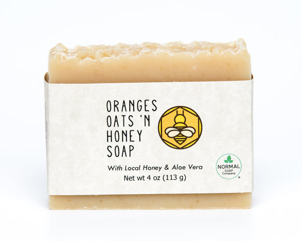 Oranges Oats and Honey Soap
