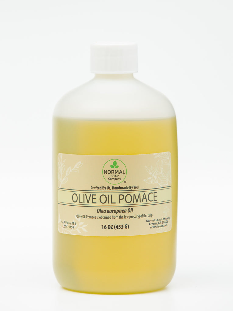 Olive Oil Pomace for Soap Making!