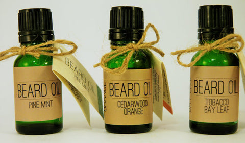 Beard Oil Featuring Meadowfoam Seed, Camellia Seed, and Jojoba Oil