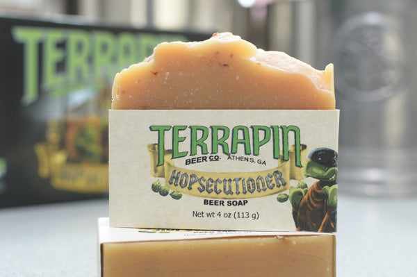 Terrapin Beer Soap!