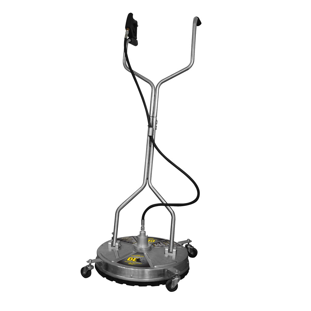 "BE 24"" Whirl-A-Way Flat Surface Cleaner Stainless Steel 4000psi"