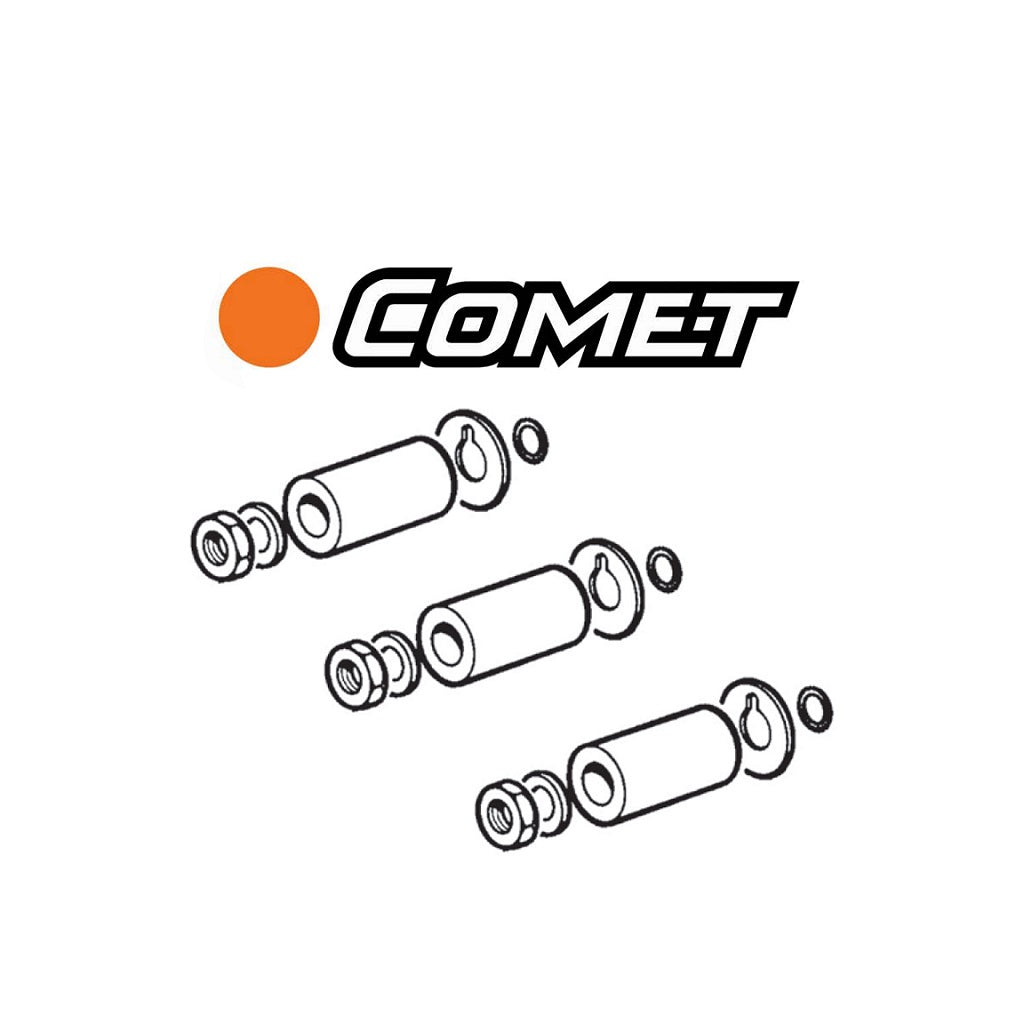 Comet Pump Complete Ceramic Piston Repair Kits