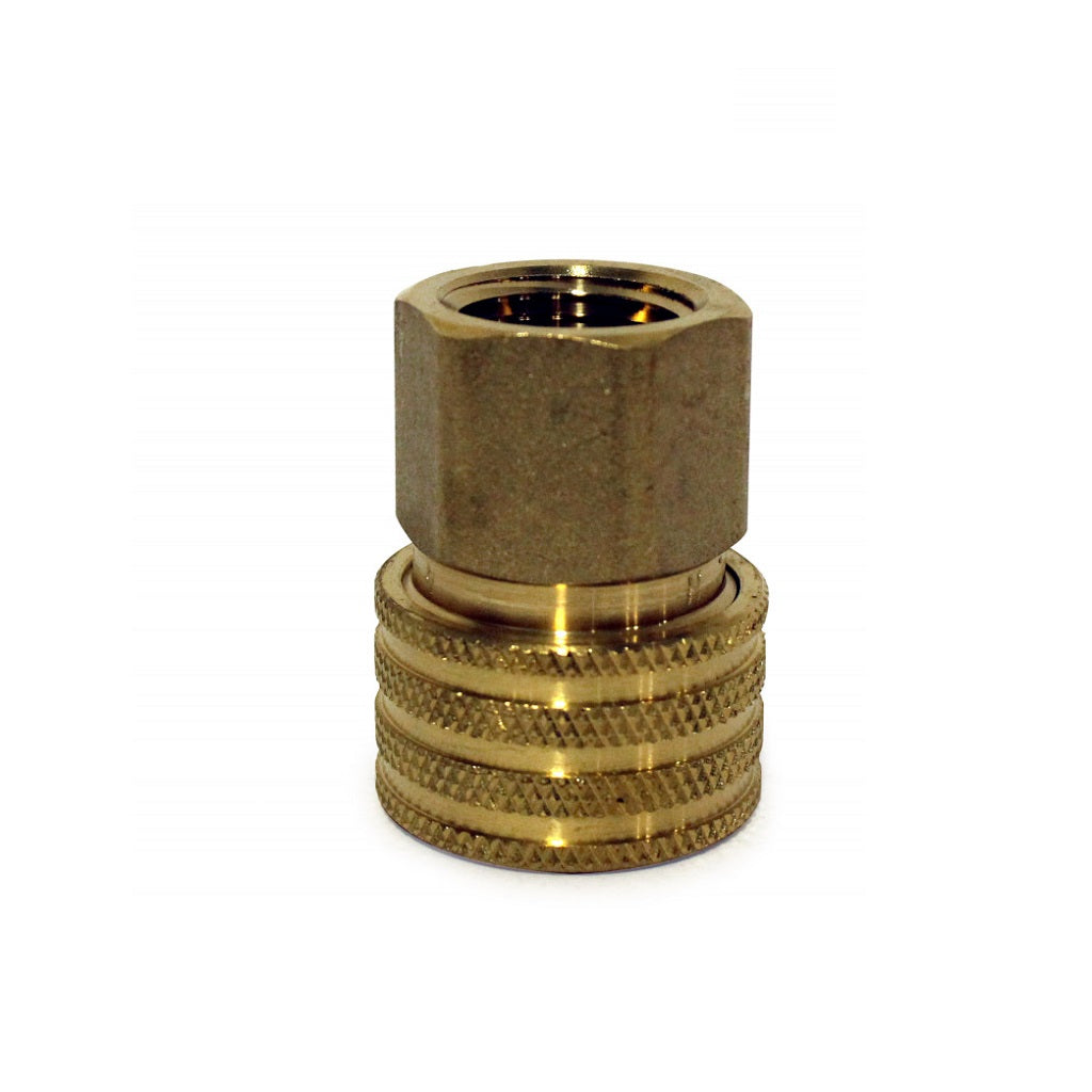 "Quick Connect Coupler (Female Socket) x 1/2"" FPT Thread"