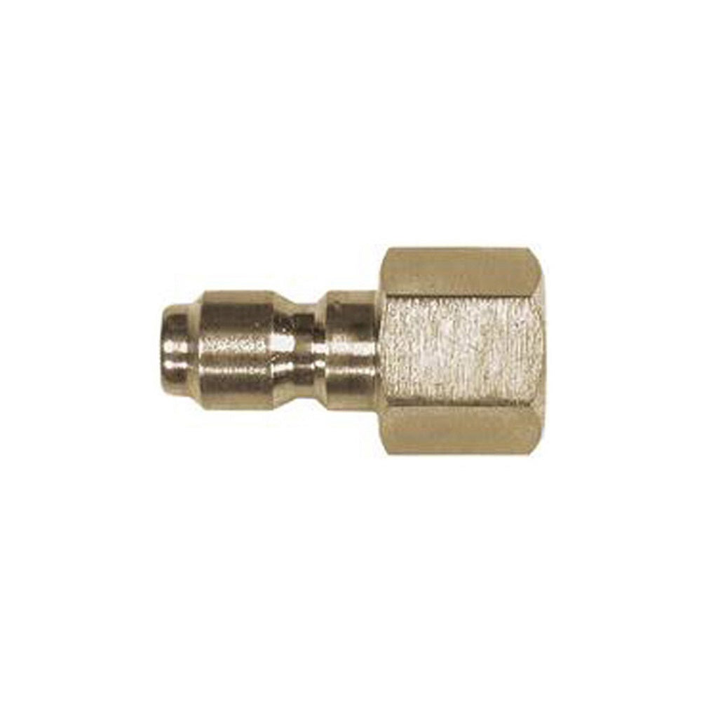 "Quick Connect Plug x 1/4"" FPT Thread"
