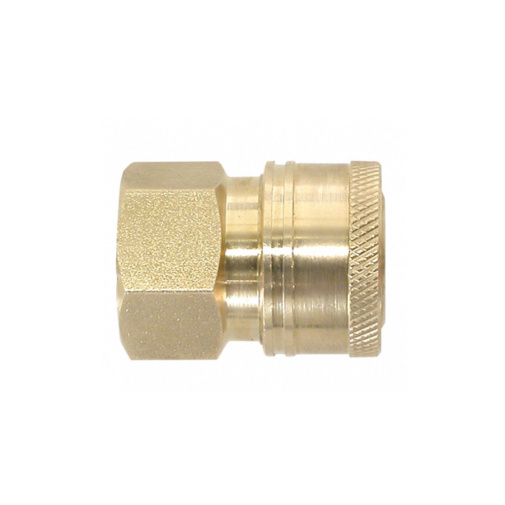 "Quick Connect Coupler (Female Socket) x 1/4"" FPT Thread"