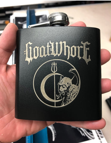 GOATWHORE Limited Edition Flask