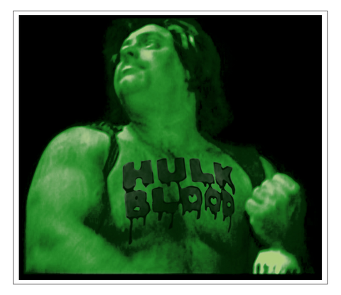 HULK BLOOD STICKER *Limited Edition*