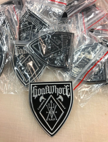 Goatwhore Shield Enamel pin