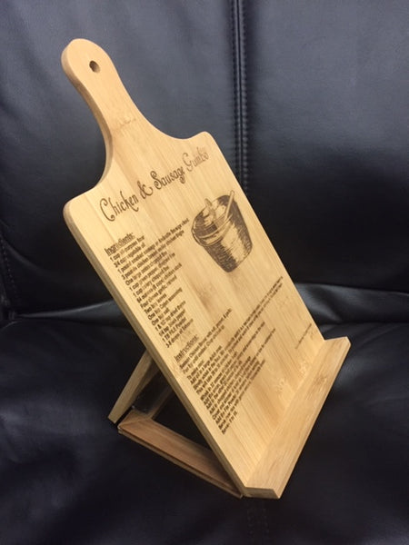 Bamboo Standing Chef's Easel