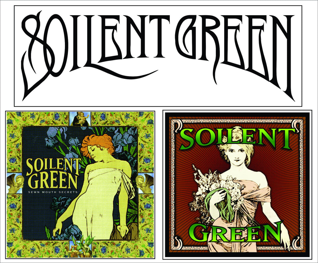 SOILENT GREEN STICKER PACK(3)