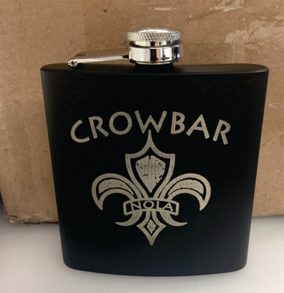 Crowbar 6oz Flask