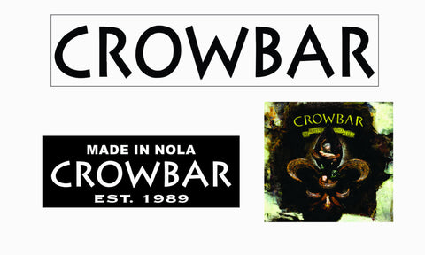 Crowbar Sticker Set(3)