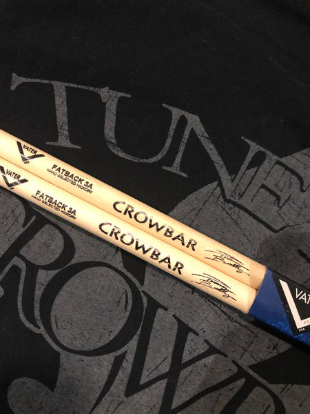 Tommy Buckley CROWBAR drumsticks