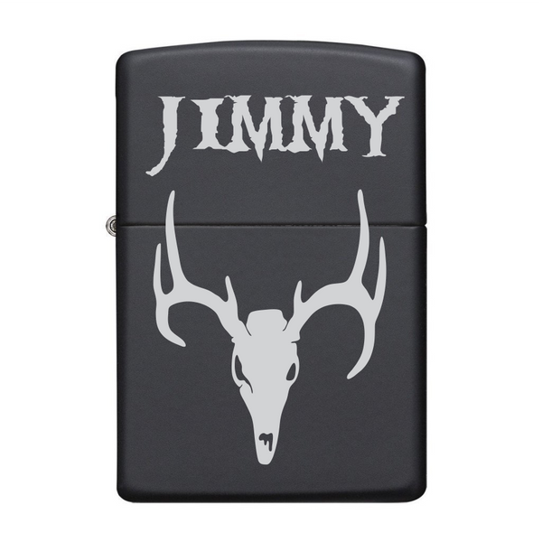 Matte Black Wind-Proof Lighter