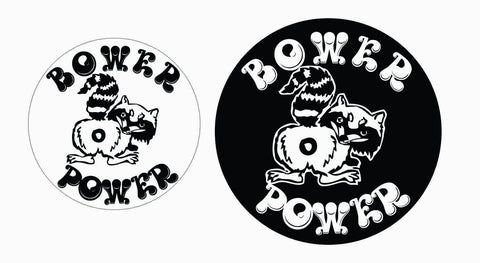 Bower Power Sticker Set(4)