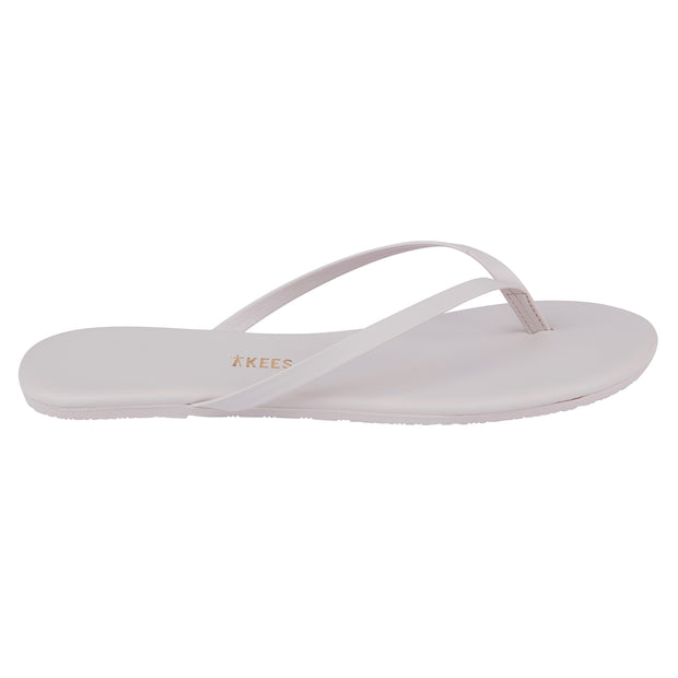 Pastel Pink Leather Flip Flops with Leather Upper, Leather Insole, Rubber Outsole