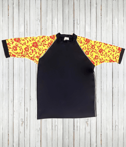 "Clearance - Men's Rash Guard ""Hawaiian"" T's - Radicool UV Beachwear"