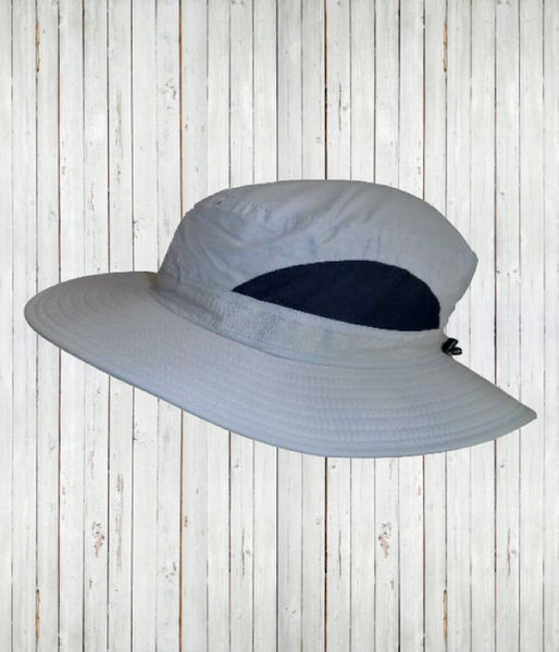 Adult broad brimmed hat sand radicool sun protective clothing