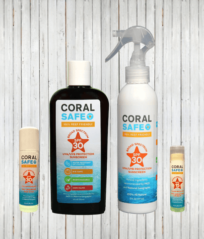 Coral Safe Complete Sunscreen Kit | Radicool sun protective clothing