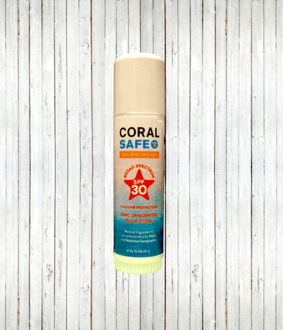 Coral Safe SPF 30 Face Stick - Radicool UV Beachwear
