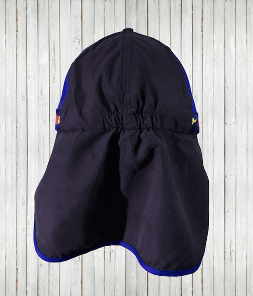 "Clearance - Kids' ""Flaps Up"" Legionnaire Hats - Radicool UV Beachwear"