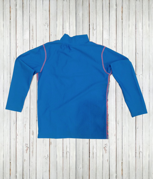 New - Kids' Long Sleeve Zip Top Shirts - Radicool UV Beachwear