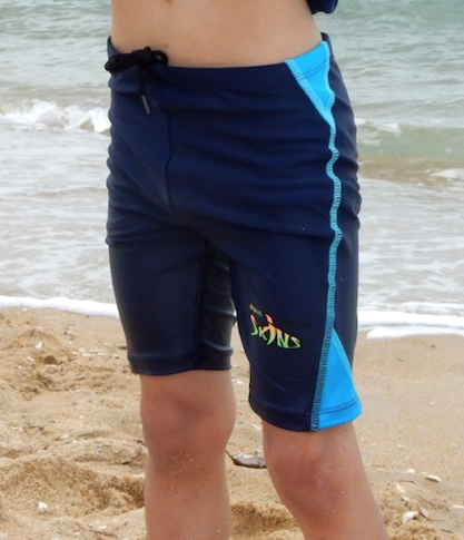 New - Kids' Rash Guard Shorts - Radicool UV Beachwear