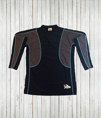 New - Men's Rash Guard Shirts - Radicool UV Beachwear