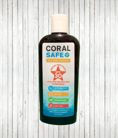 Coral Safe 30 SPF Sunscreen Lotion | Radicool sun protective clothing