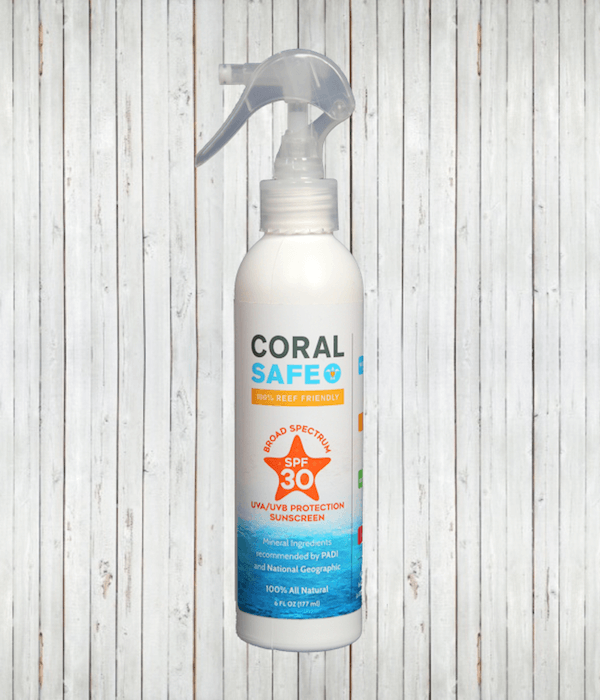 Coral Safe 30 SPF Sunscreen Spray Non-Areosol | Radicool sun protective clothing