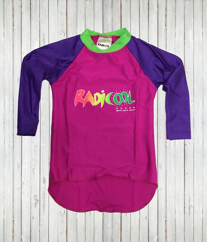 Clearance - Kids' Rash Guard Shirts - Radicool UV Beachwear
