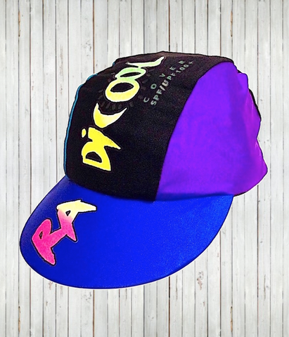 "Clearance - Kids' ""Rainbow"" Ball Hats - Radicool UV Beachwear"