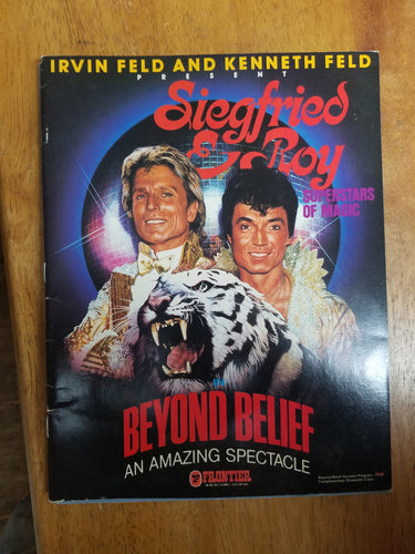 Siegfried & Roy Beyond Belief Program