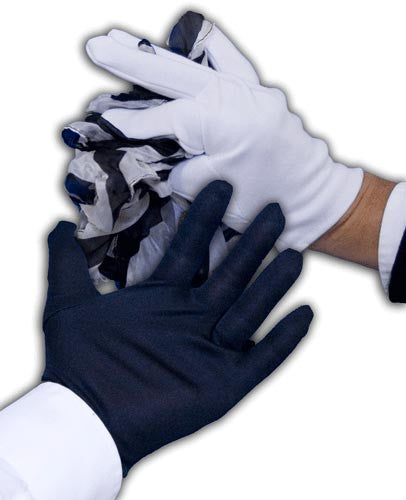 Black & White Gloves To Streamer