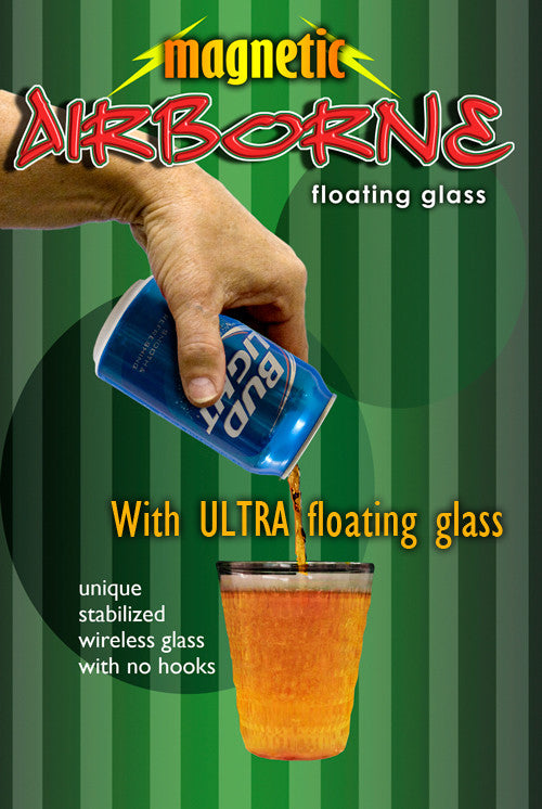 Airborne, Magnetic - Bud Light w/ Ultra Glass