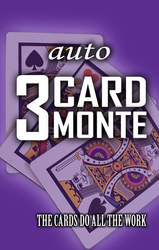 AUTO Three Card Monte Set - Bicycle