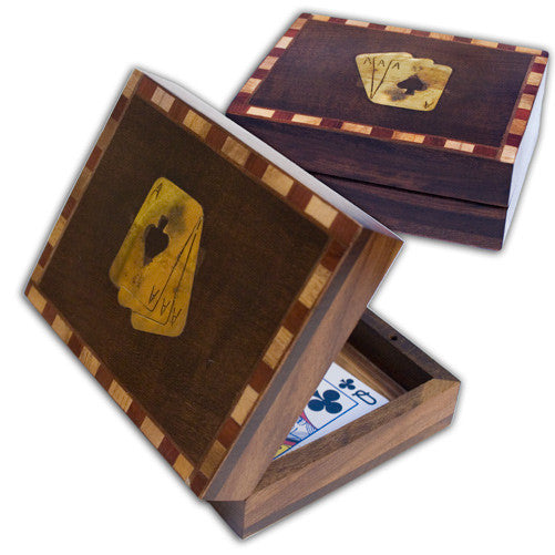 Card Changing Box - Antique
