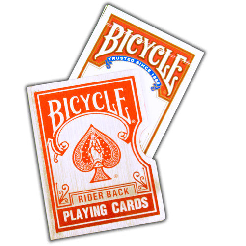 Card Guard, Bicycle - Red