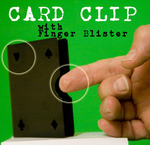 Card Clip, Metal - Finger Blister