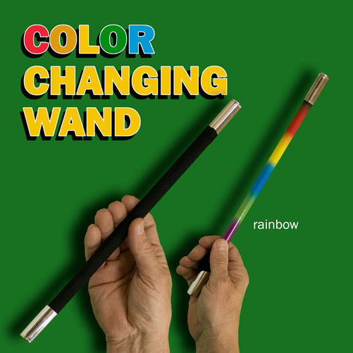 Color Changing Magic Wand - Rainbow